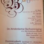 Met Amsterdams Bachkoor: barokprogramma